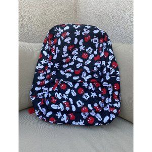 NWT! MICKEY MOUSE PRINT BACKPACK OS